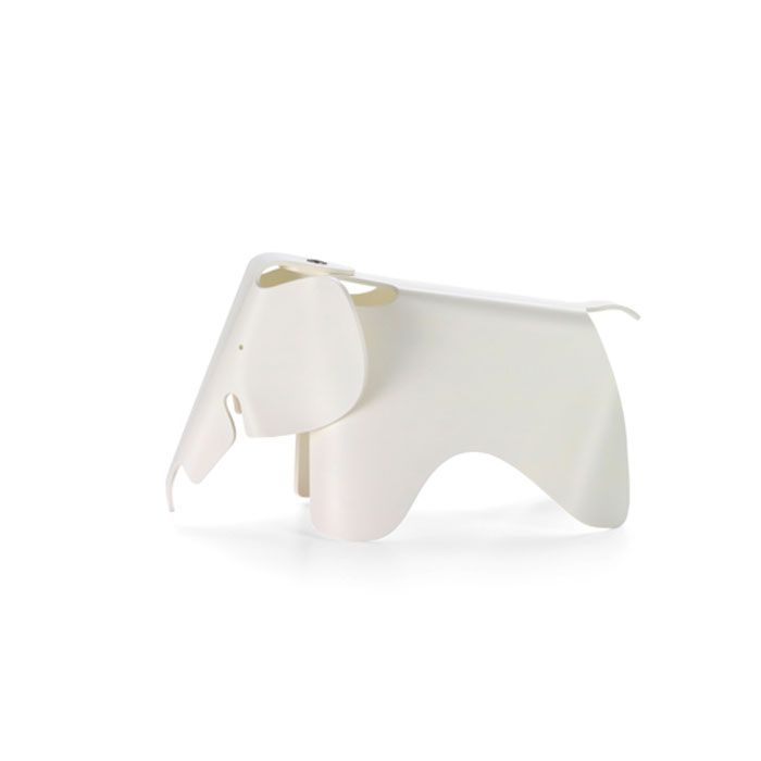 Eames Elephant (small ) Wit