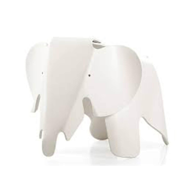 Eames Elephant Kinderstoel (wit )