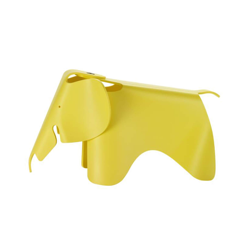 Eames Elephant (small ) Geel