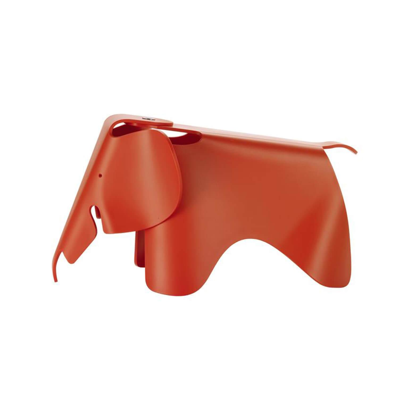 Eames Elephant (small) Rood