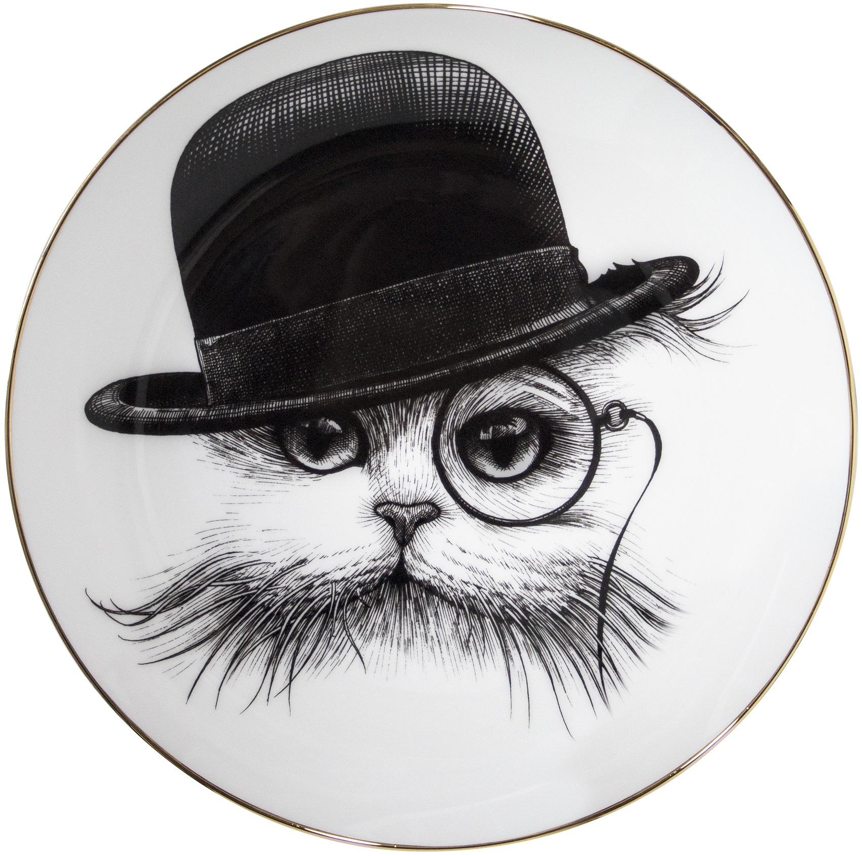 Cat In Hat Tilt