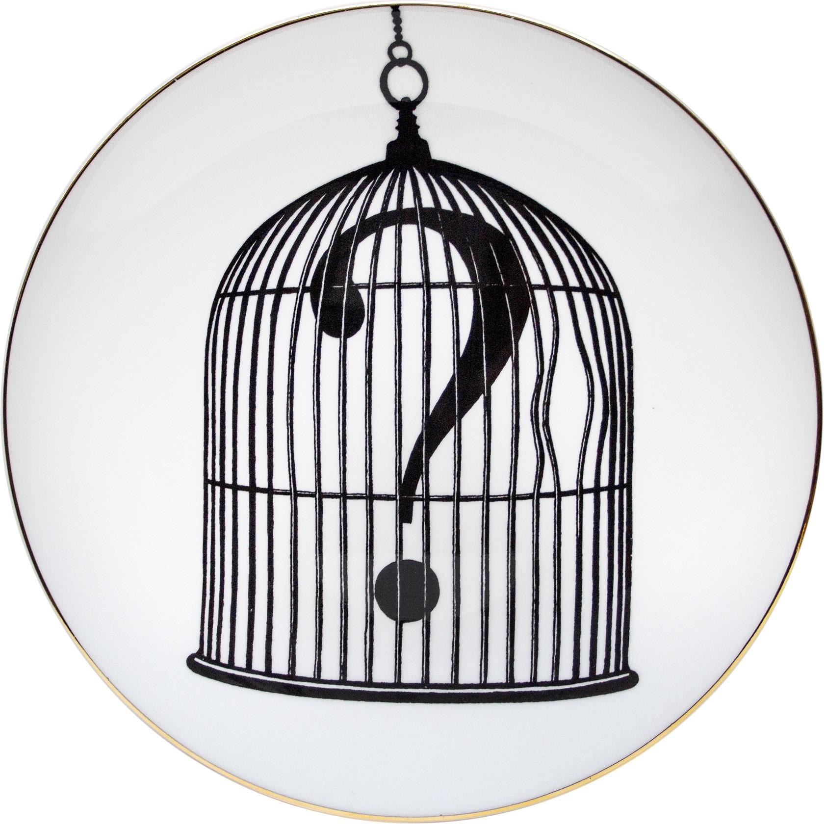 Question Mark Birdcage
