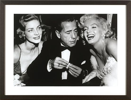 Bacall,Bogart,Monroe